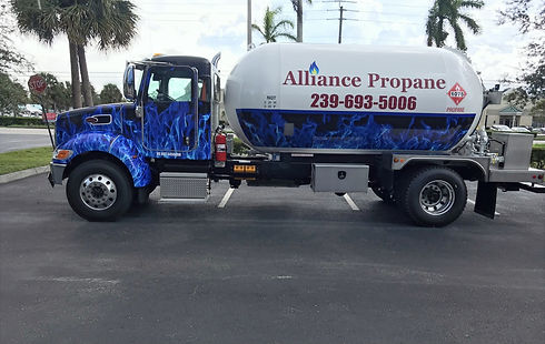 Alliance Propane truck