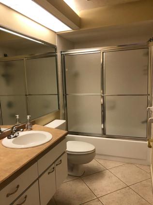 13. Guest bathroom remodel on Quail Crown Dr.