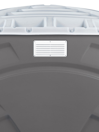 Vent on rear