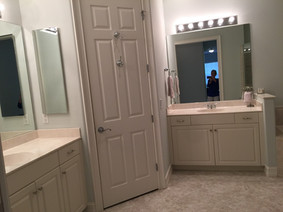 18. Master bathroom on Sara Ceno Dr. Estero, FL BEFORE remodel