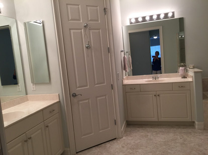 18. Master bathroom on Sara Ceno Dr. Estero, FL BEFORE remodel