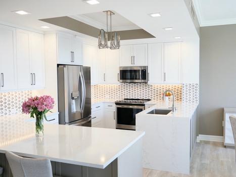 1. Kitchen in condo at 4761 West Bay Blvd