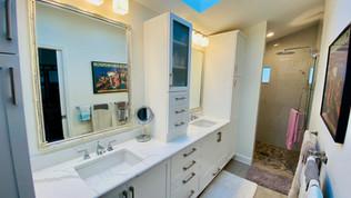 17. Master bathroom renovation on Quail Crown Dr.