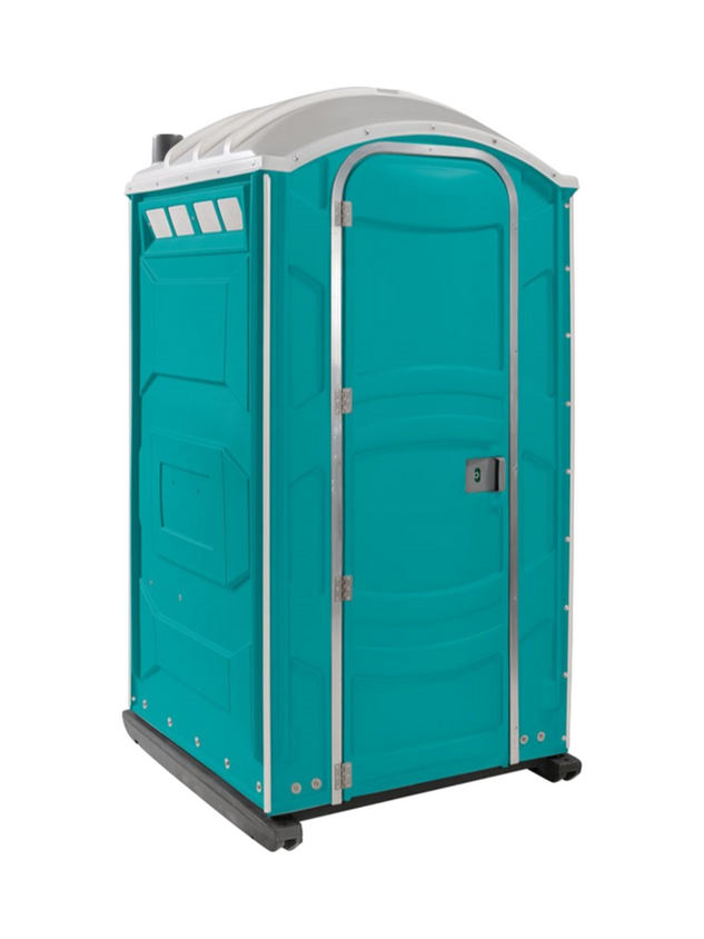 Construction porta potty