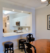 7. Kitchen in condo at 8450 Kingbird Loop