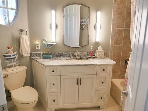 Bathroom remodel in Pelican Landing by KBA