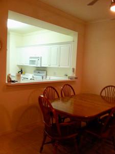 6. Kitchen in condo at 8450 Kingbird Loop