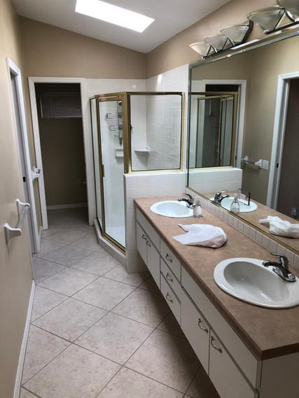 18. Master bathroom remodel on Quail Crown Dr.