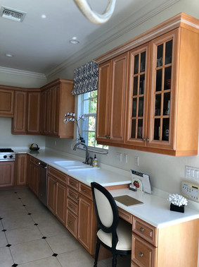 7. Kitchen on Natures Cove Ct in Estero, FL (BEFORE)