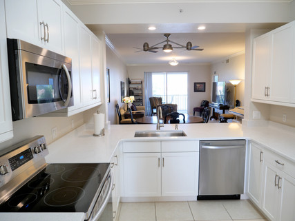 9. Kitchen in condo at 8450 Kingbird Loop