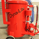 Portable grease trap cleaner
