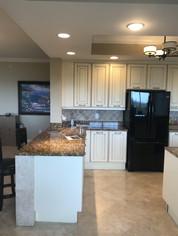 2. Kitchen in condo at 4761 West Bay Blvd