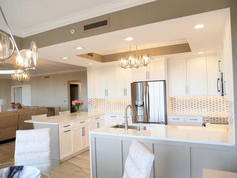 10. Kitchen in condo at 4761 West Bay Blvd