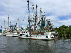 Shrimping vessels in Ft Myers Beach