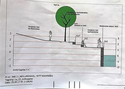 Kommunens prosjekt, snitt C,Amfi