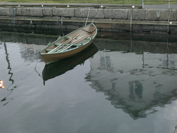 vakkert fotomotiv i Nevlunghavn, en dag sent på høsten....
