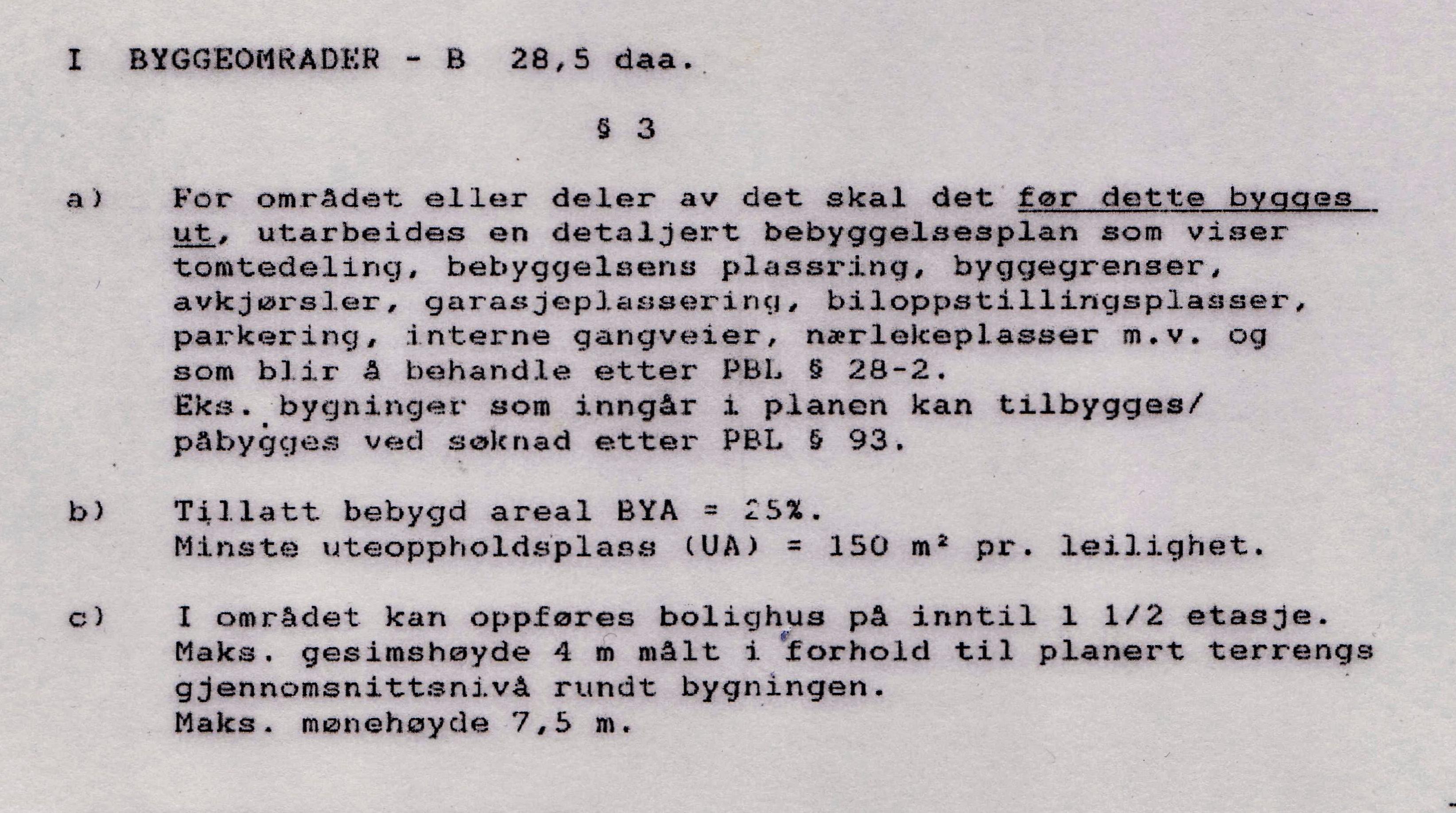 Detalj -Bev.plan1991  Byggeområder