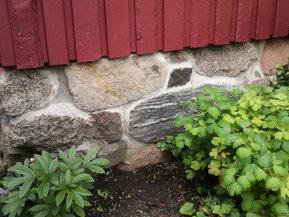 Grunnmurer i granittstein