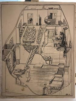 Tegning Vadbodholmen Hermetikfabrik