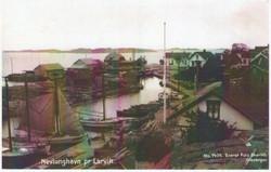 Gamle Nevlunghavn, indre havn.
