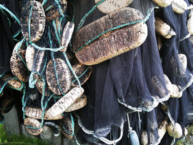 Gamle makrellgarn fra Nevlunghavn