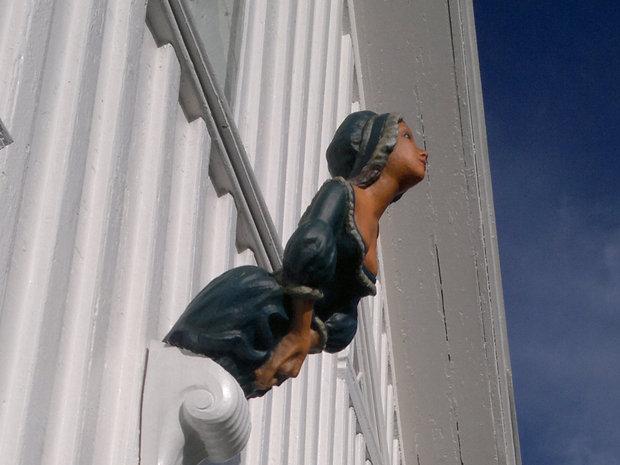 Gallionsfigur replika sjøfartsmuseet
