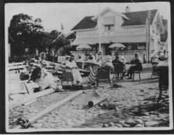 Nevlunghavn Gjæstgiveri ca 1920