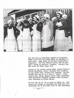 Rekepillerskene, Rekefabrikken 1921