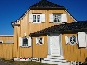 Gamle Sjøstua i Nevlungahavn