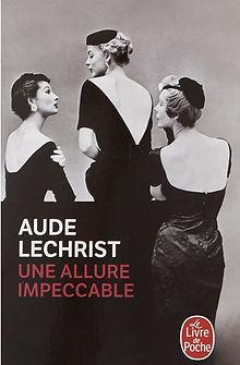 Couverture livre poche une allure impeccable Aude Lechrist