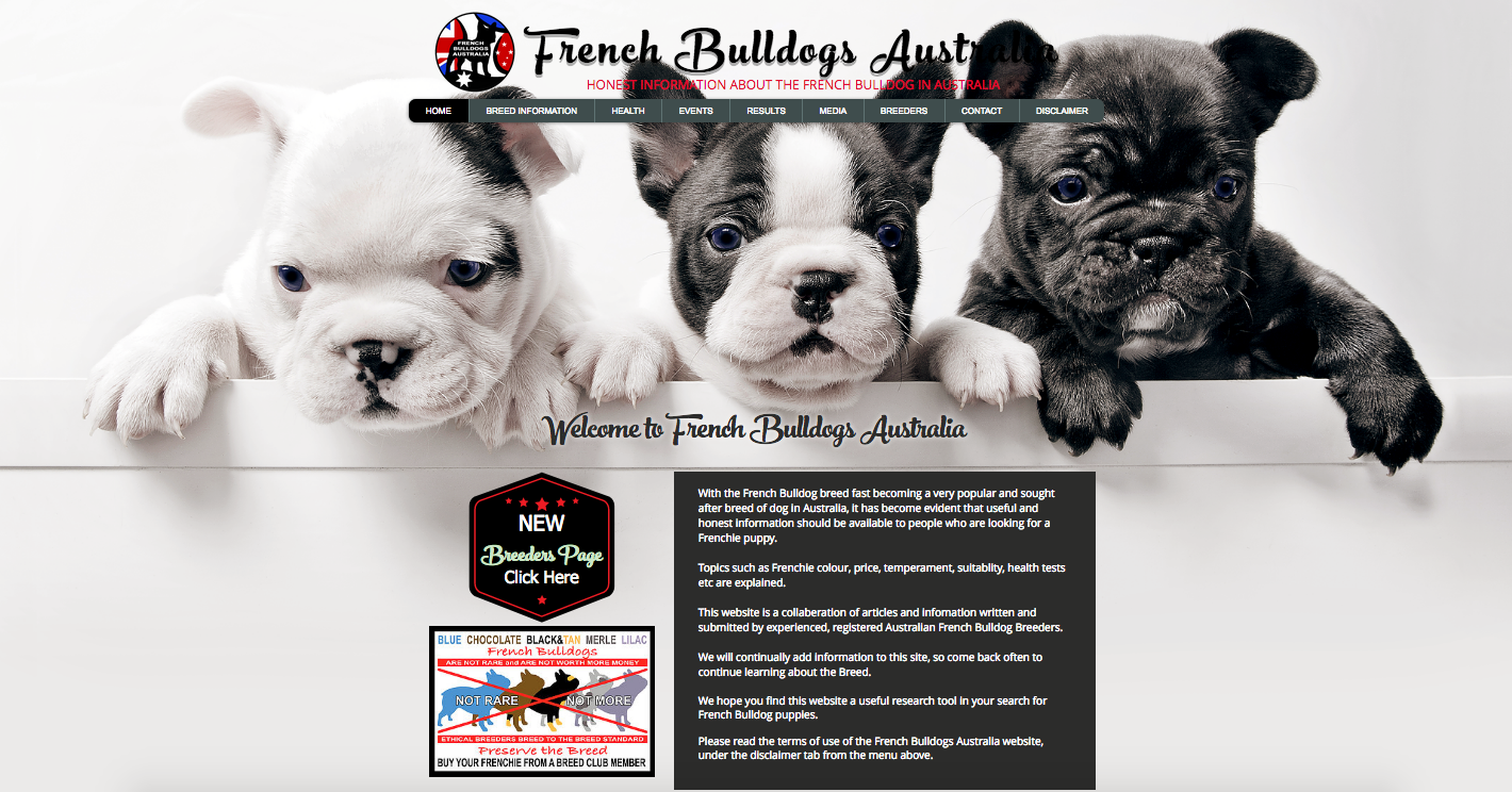 French Bulldogs Australia