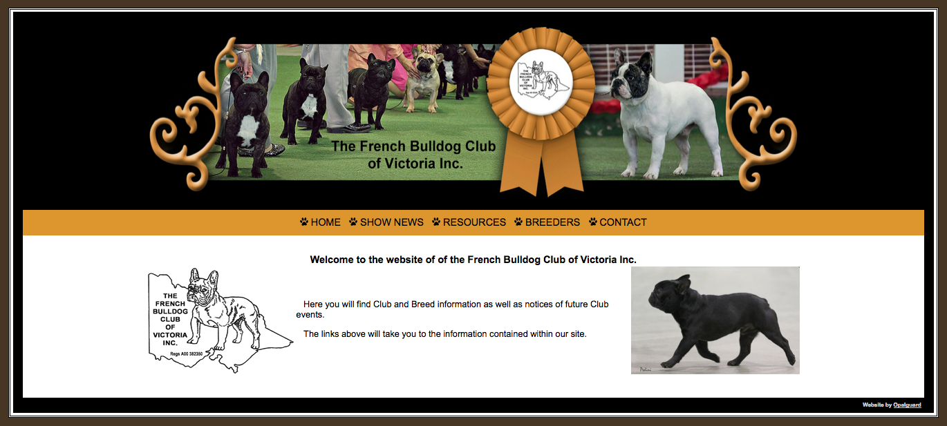 French Bulldog Club of Victoria Inc