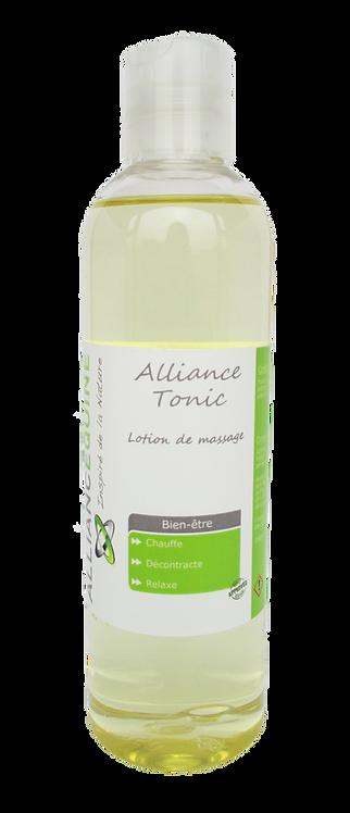 Alliance Tonic Huile de massage aux huiles essentielles