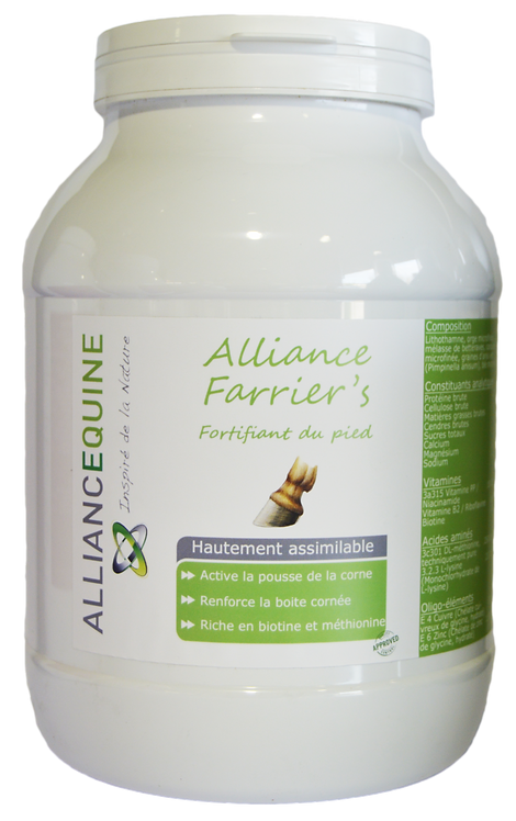 Alliance Farrier's Complément biotine granulés