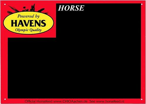 Plaque de box - Havens