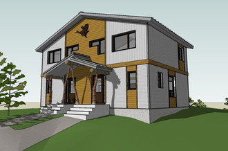 Housing for the Atikamekshen Anishawbek First Nation, designed by Lapointe Architects moving ahead