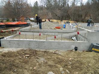 River House construction begins