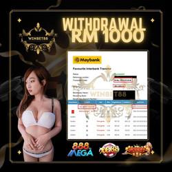 WITHDRAWL RM1000