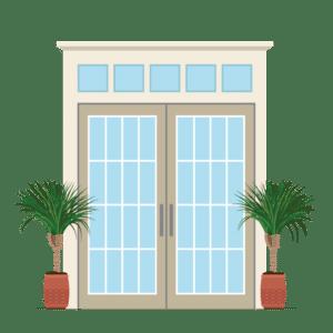 French Door Screen