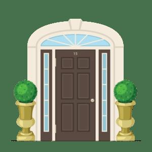 Entry Door Screen