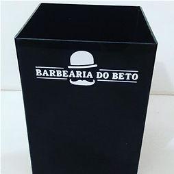 caixa em acrílico
