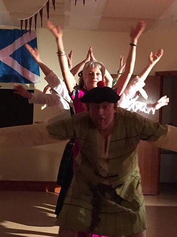 Hay Adult Theatre Studies Not Burns Night performance 2016