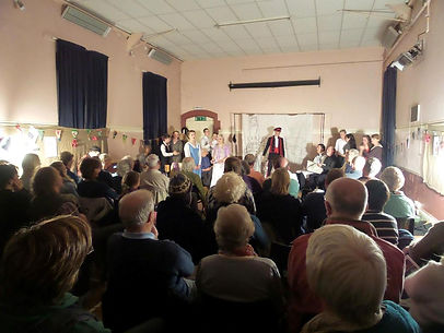 Hay Theatre Company Refelctions on a Train Journey home performance at Hay Parish Hall October 2014