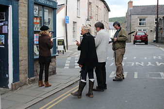 Hay Filmmakers on location Hay-on-Wye
