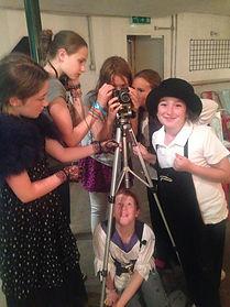 Performce skills training for kids led by Janine Sharp