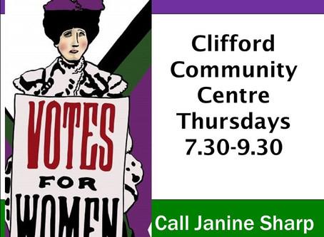 Win the Vote at Theatre Thursdays