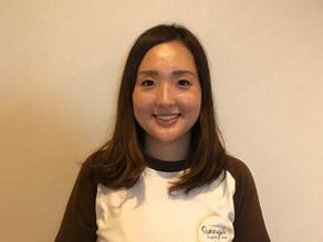 New Staff バイリンガル保育士 Nanako先生