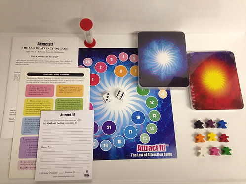 Limited Edition Attract It! Game Set  Beta version with mini-game board