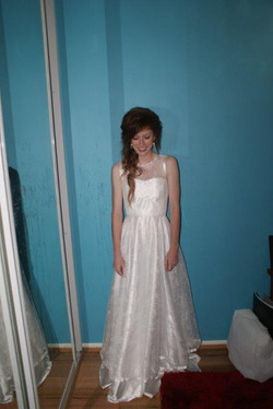 Ellens designer deb dress
