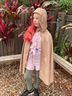 childs cape costume